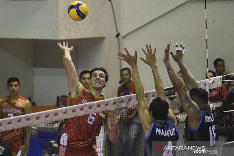 Proliga 2020 - Bank SumselBabel kalahkan Sadang MHS 3-1