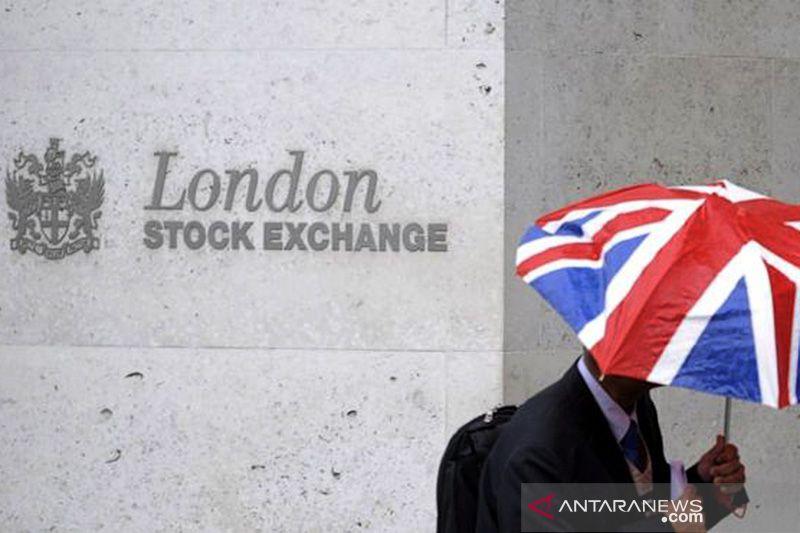 Saham Inggris naik tajam, indeks FTSE 100 di London terangkat 4,45 persen