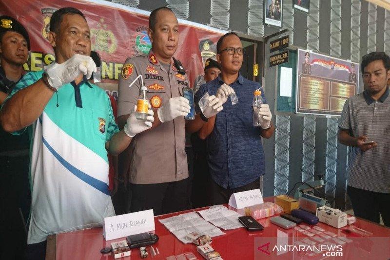 Polisi tangkap pengedar sabu diduga jaringan lapas