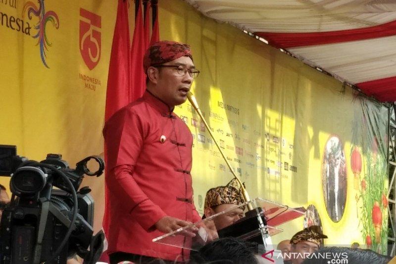 Gubernur Jawa Barat: Bogor Street Festival berikan pesan jaga persatuan dan keberagaman