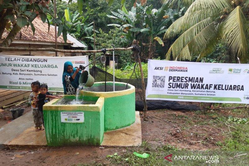 ACT - Global Wakaf bangun 26 sumur keluarga di Banyuasin
