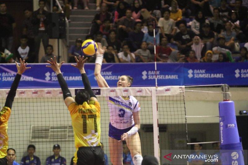 Tim voli putri Jakarta PGN Popsivo kalahkan BJB Tandamata 3-1