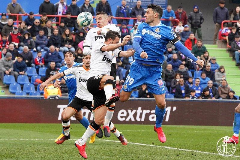 Getafe gilas Valencia dengan skor 3-0