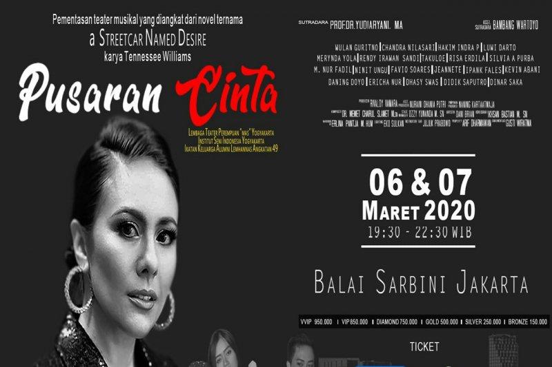 """Wulan Guritno akan ramaikan pentas teater musikal """"Pusaran Cinta"""""""