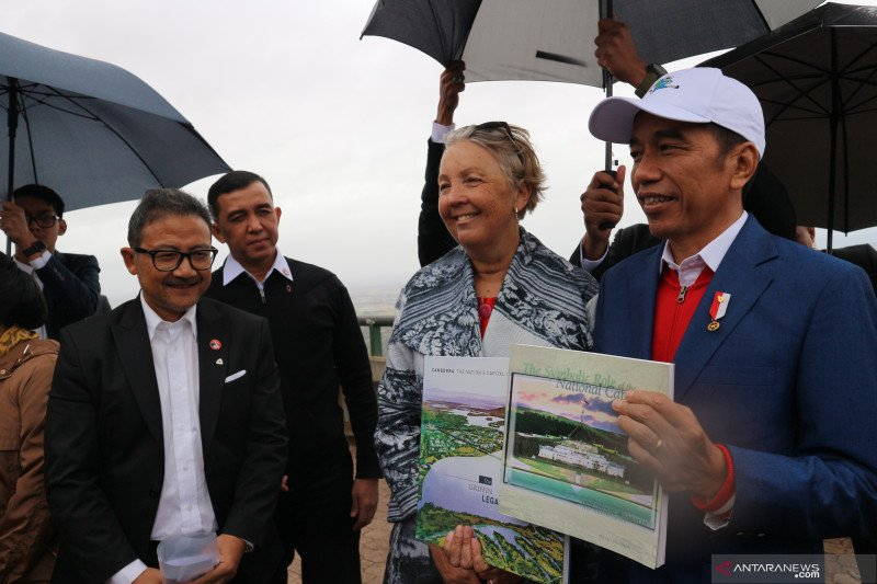 Jokowi yakin perpindahan ibu kota baru terlaksana pada 2024