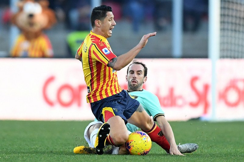 Napoli tumbang di tangan Lecce