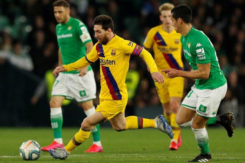 Messi buat assist tiga gol saat Barcelona gebuk Betis 3-2