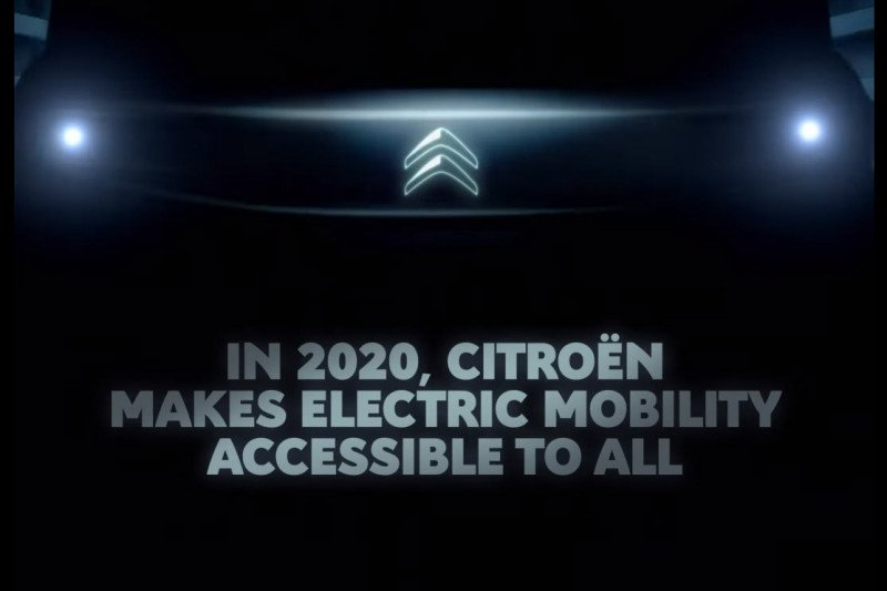 Kisi-kisi mobil listrik terbaru dari Citroen