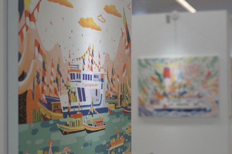 H(ART)BOUR 2020, festival seni di pelabuhan Mera-Bakahueni