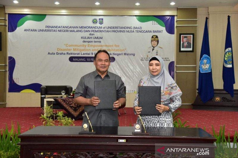 Pemprov NTB bekerja sama pendidikan dengan Universitas Negeri Malang