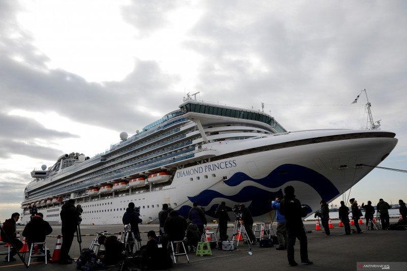 Italia evakuasi 35 warga dari kapal pesiar Diamond Princess