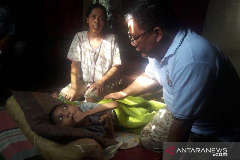 Ini kondisi anak penderita epilepsi dan radang otak di Kuantan Singingi
