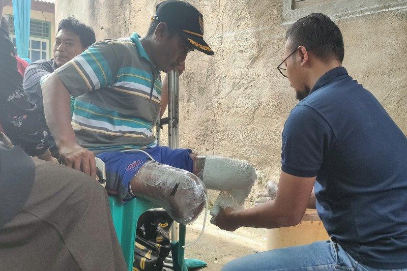 YPTD--PPDI Lampung buatkan kaki-tangan palsu bagi kaum disabilitas