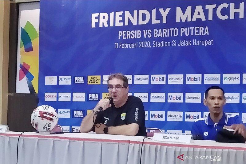 Usai kalahkan Barito, Pelatih Persib sebut ini yang penting