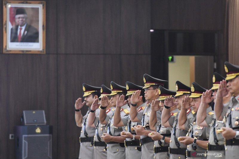 Berikut 11 perwira tinggi Polri naik pangkat