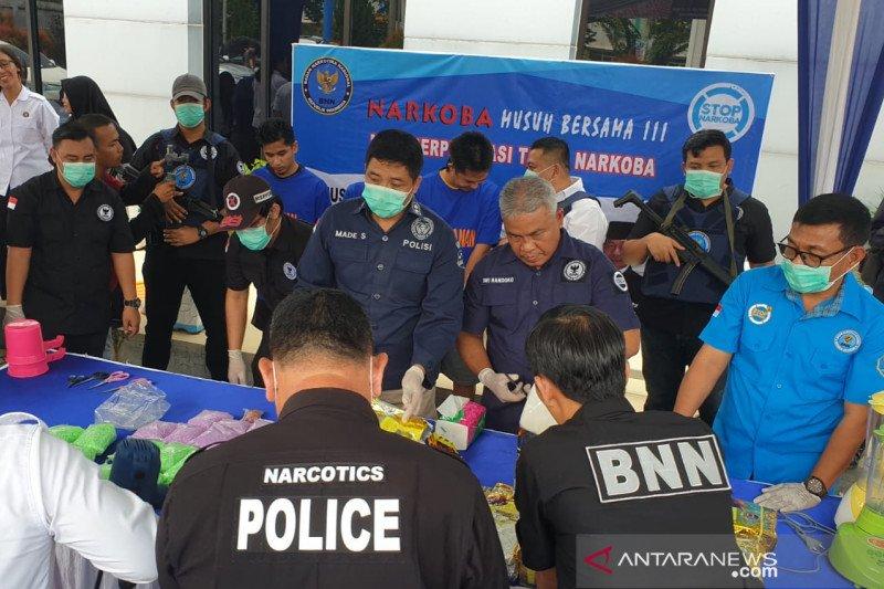 Anggotanya ditangkap BNN berikut 10 Kg sabu, begini reaksi Kapolres Bengkalis