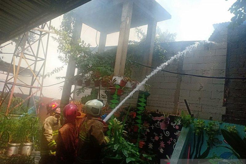 Belasan rumah terbakar di Cengkareng diduga dari masak di masjid