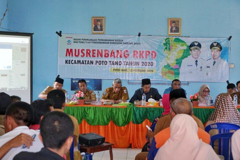 Kecamatan Poto Tano usulkan anggaran Rp53,6 miliar pembangunan 2021