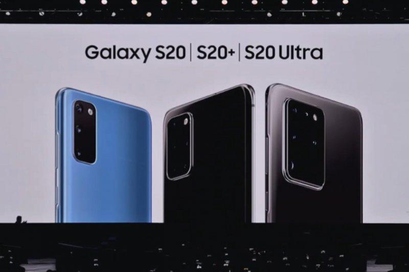 Samsung Galaxy S20 Series meluncur