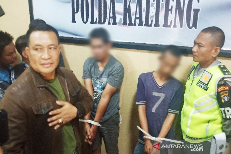 Polresta Palangka Raya tangkap dua pria  bawa 382 gram sabu-sabu