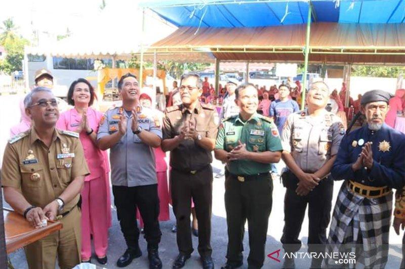 Bupati hadiri peresmian tiga kantor Polsek di Luwu Timur