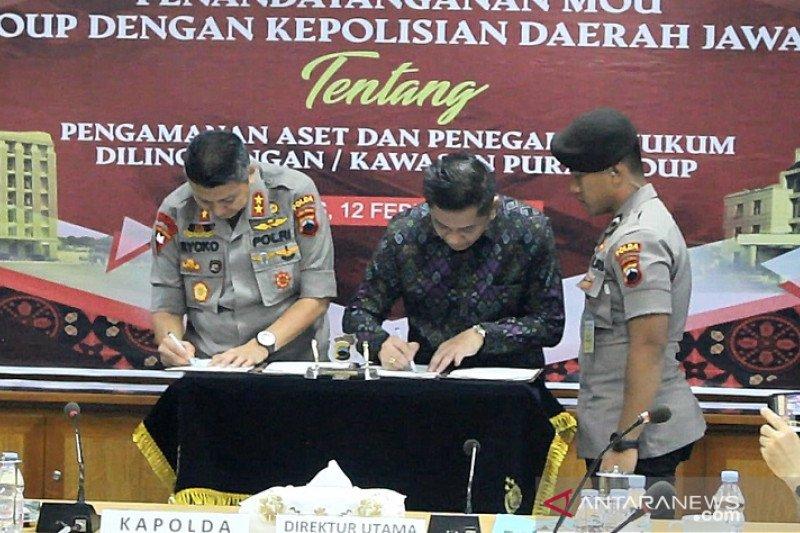 Polda-PT Pura Kudus tandatangani MoU bidang pengamanan
