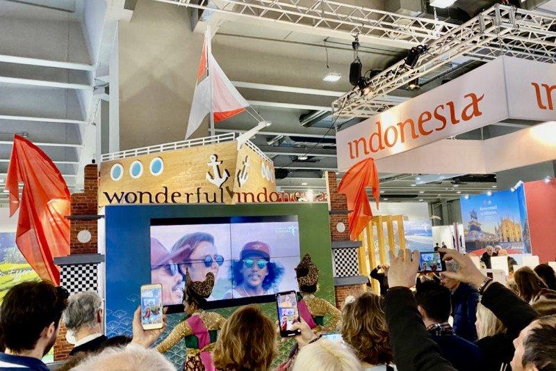 Ini lima destinasi Indonesia yang dipasarkan dalam pameran BIT Milan