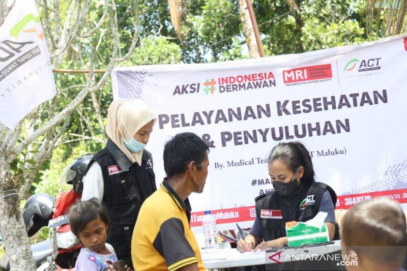 MRI-ACT gelar  pelayanan dan penyuluhan kesehatan di Maluku Tengah