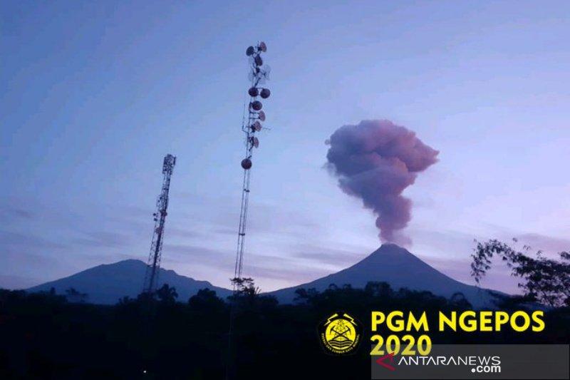 Gunung Merapi alami erupsi dengan tinggi kolom 2.000 meter
