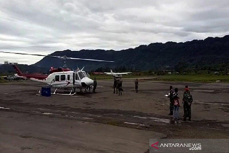 Helikopter PT NUH  hilang kontak dalam penerbangan Nabire ke Banyubiru