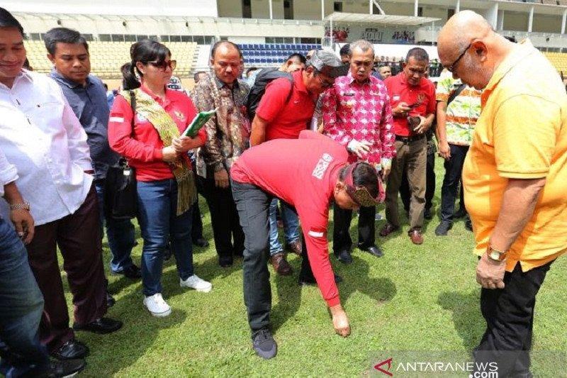 Ini tanggapan Kadispora saat swasta bantu renovasi Stadion Utama Riau