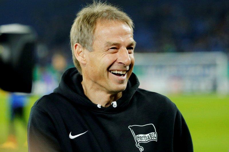 Hertha Berlin tendang Jurgen Klinsmann