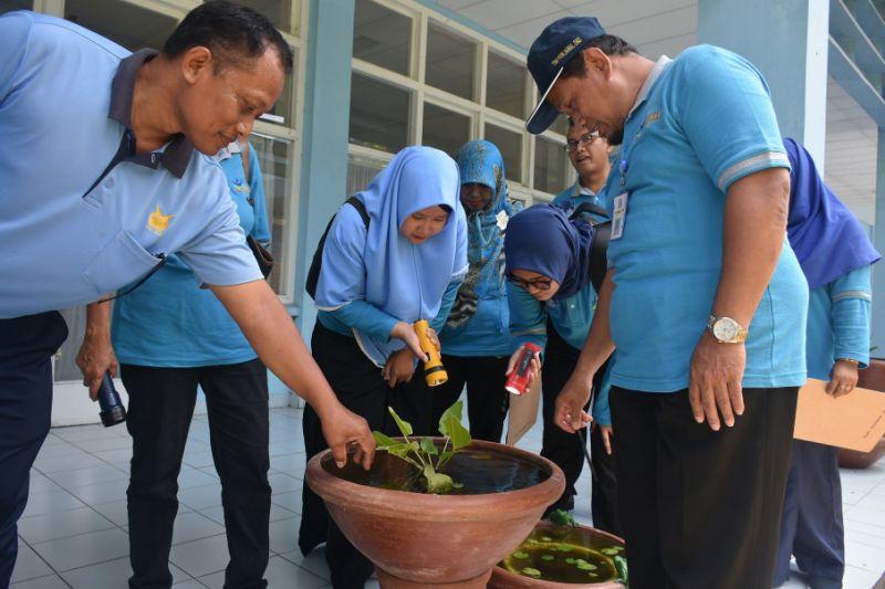 Pemkab Sleman memberantas sarang nyamuk di Komplex AAU Yogyakarta