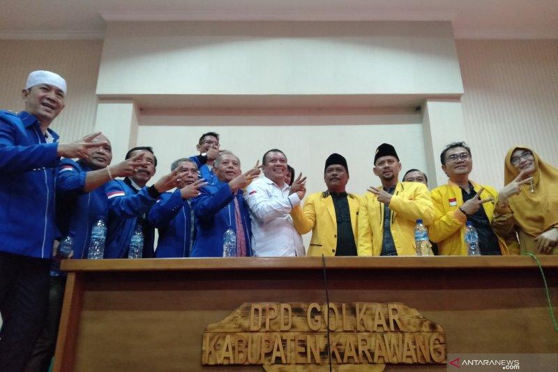 Golkar dan Demokrat Karawang akan usung petahana pada Pilkada 2020