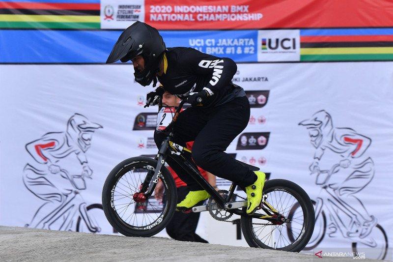 Bagus Saputra juara Kejurnas BMX 2021 di Yogyakarta