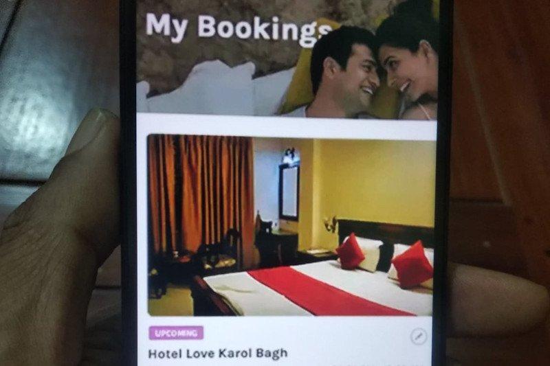 Di India, ada kamar hotel disediakan untuk pasangan belum menikah