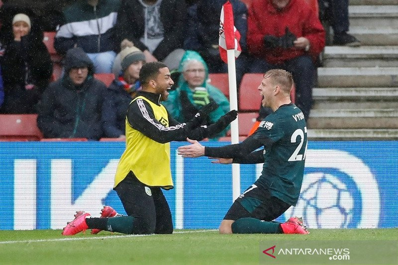 Burnley amankan tiga poin usai kalahkan Southampton