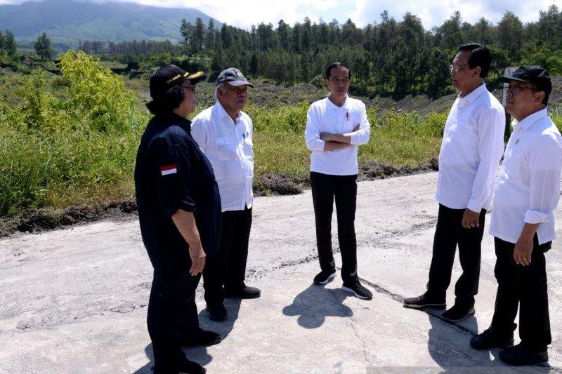 Presiden Jokowi akan tanam vetiver dan resmikan Stadion Manahan Solo
