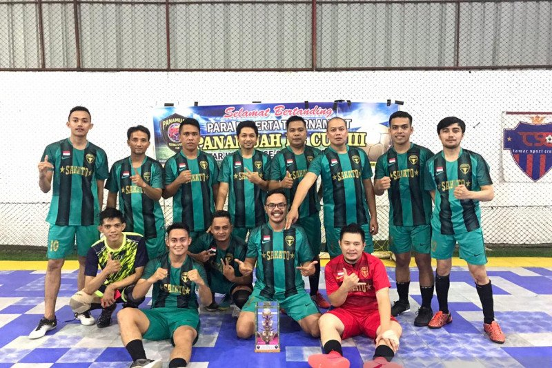 Sakato FC runner up turnamen futsal antar instansi