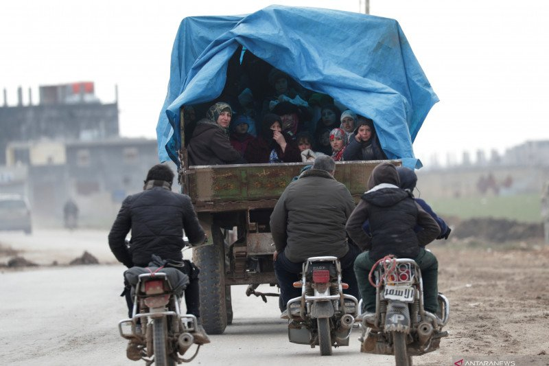 Turki tak akan hentikan pengungsi Suriah ke Eropa