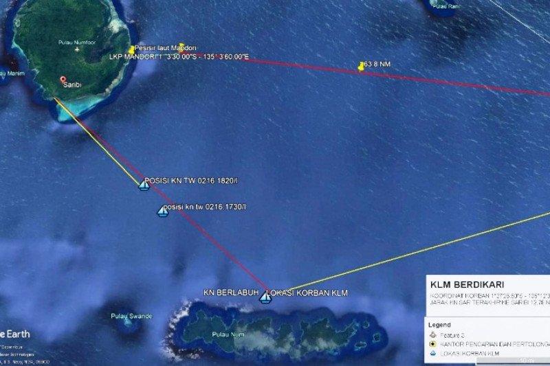 Tim SAR Biak evakuasi tiga penumpang kapal kayu dalam keadaan selamat