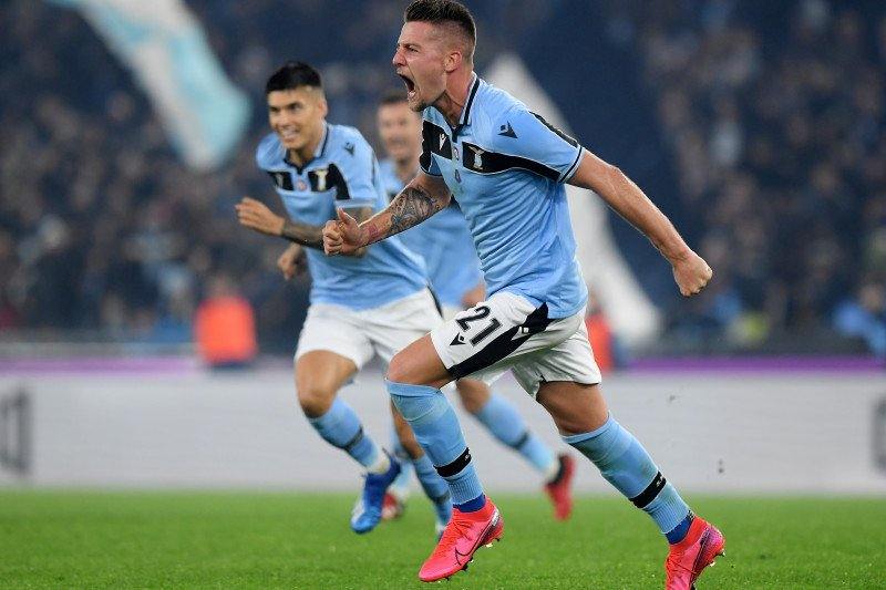 Lazio depak Inter dari peringkat kedua klasemen sementara