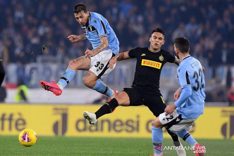 Lazio berhasil singkirkan Inter dari peringkat kedua