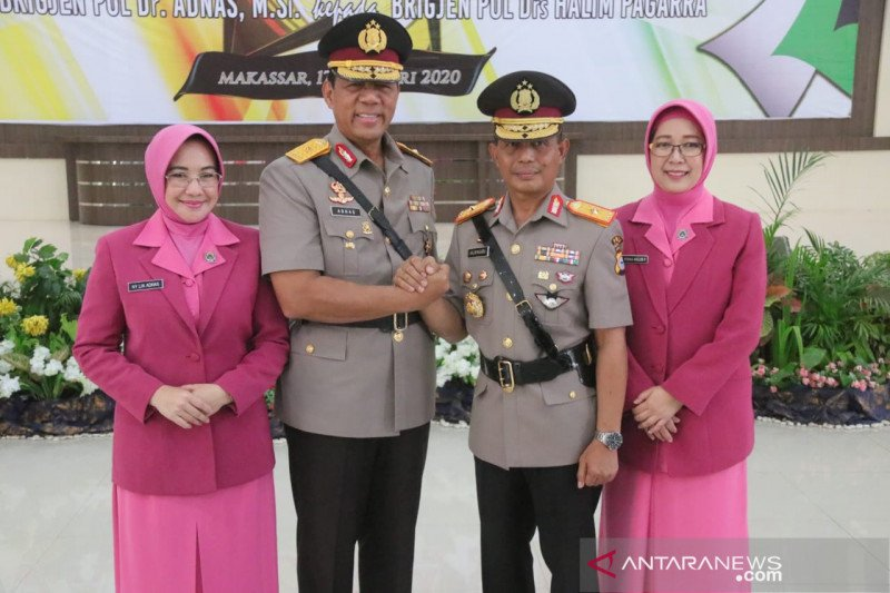 Brigjen Polisi Halim Pagarra resmi Jabat Wakapolda Sulsel