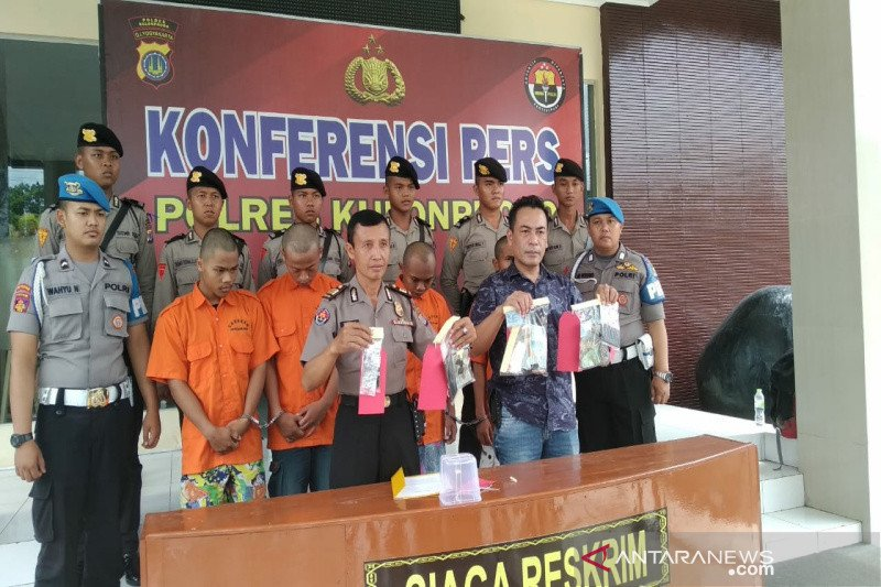 Polres Kulon Progo amankan empat tersangka kasus pengedaran obat yarindo