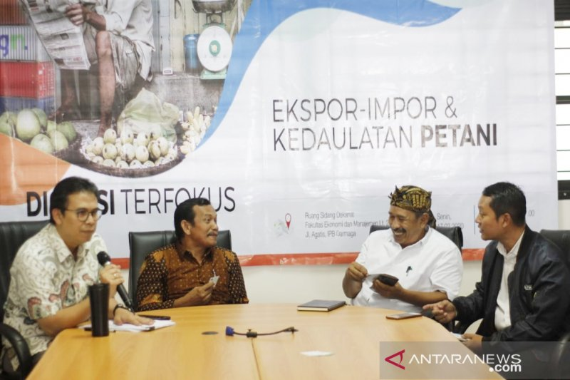 IPB dan KRKP soroti kebijakan Jokowi soal perdagangan
