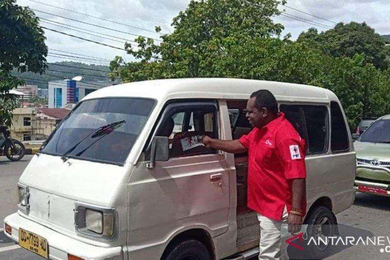 PMI Papua sebar ribuan masker upaya cegah penularan COVID-19