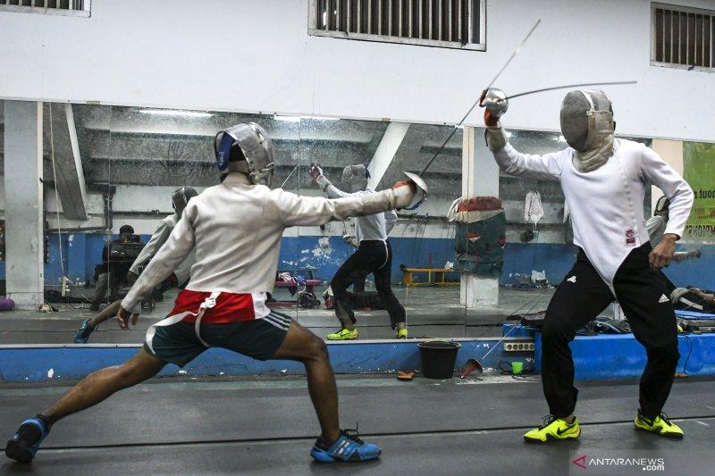 Delapan Atlet Anggar Sumsel Lakukan Persiapan Jelang PON Papua