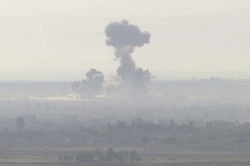 Serangan udara menghantam rumah sakit di Suriah