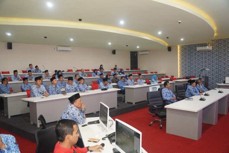 "Sosialisasi sensus penduduk, Pemkab Magelang uji coba ""command center"""